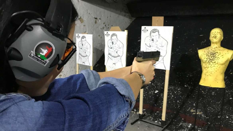 Középhaladó pisztoly (3 napos egyes szint)