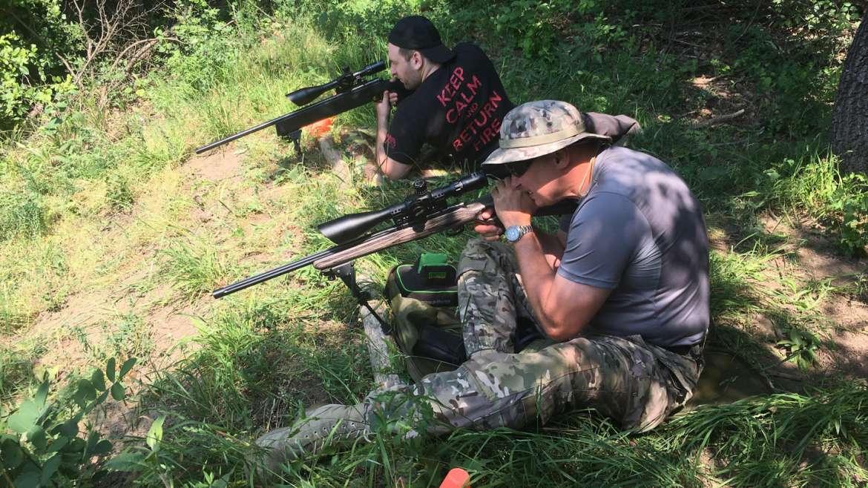 Középhaladó távcsöves puska kezelői 3-4-5 nap – kis kaliber