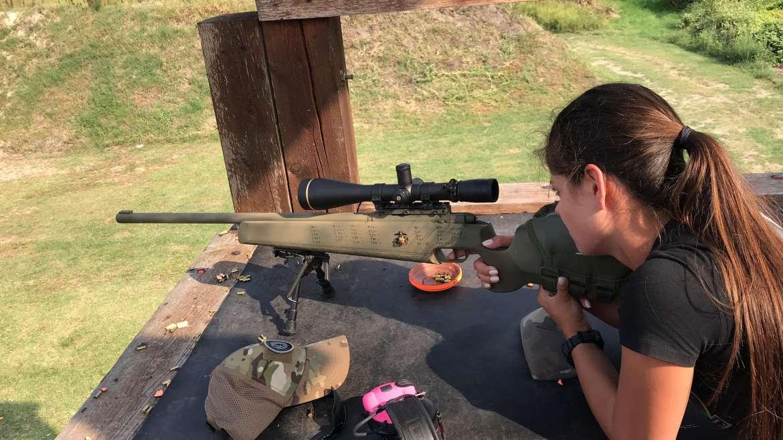 Középhaladó távcsöves puska kezelői 1-2 nap – kis kaliber