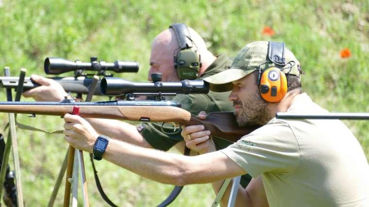 vadász lövész edzés